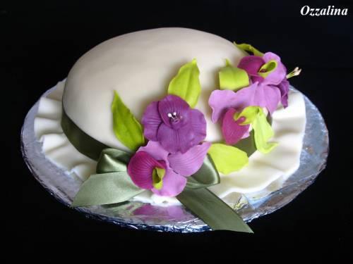 Торт шляпа муза 03